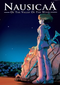 Image result for nausicaa valley of the wind poster